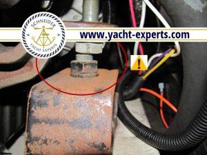 Yacht Survey Engine Mount