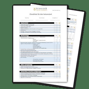 Boot-Checkliste für den Saisonstart | Schneider YACHT EXPERTS