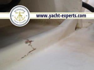 Bootsgutachten Hilfsspant