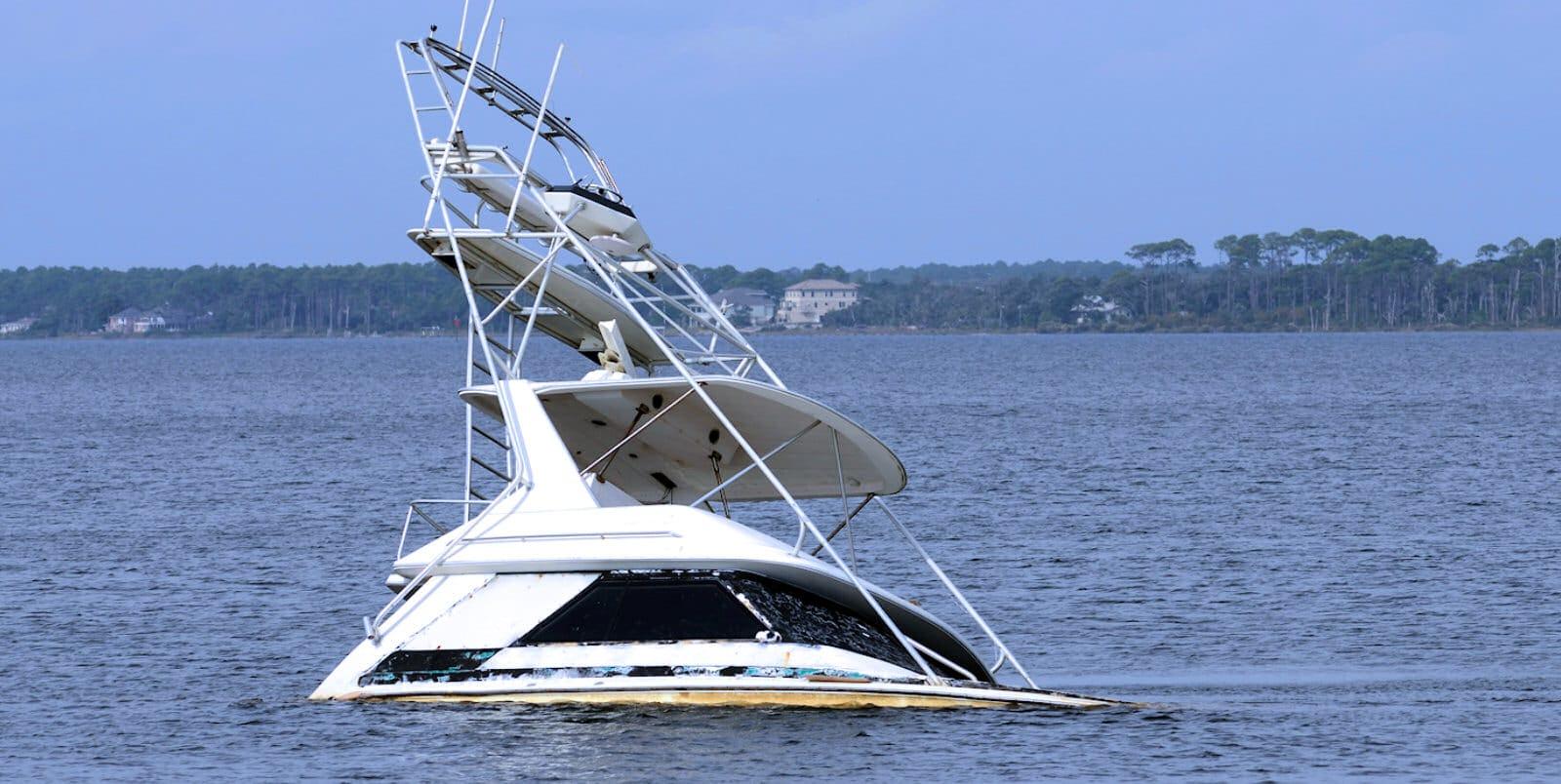 Galvanische Korrosion auf Booten