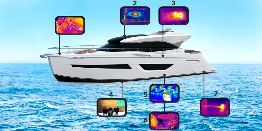 Yachtgutachten Thermografie